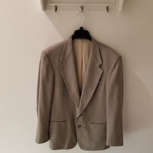 Givenchy Monsieur Brown & Beige Suit Jacket (52)